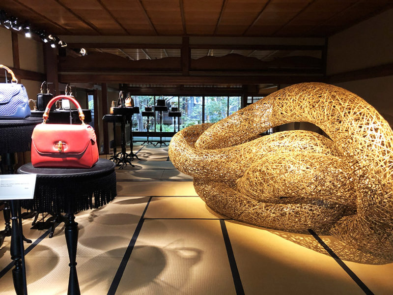GUCCI BAMBOO HOUS in KYOTO
